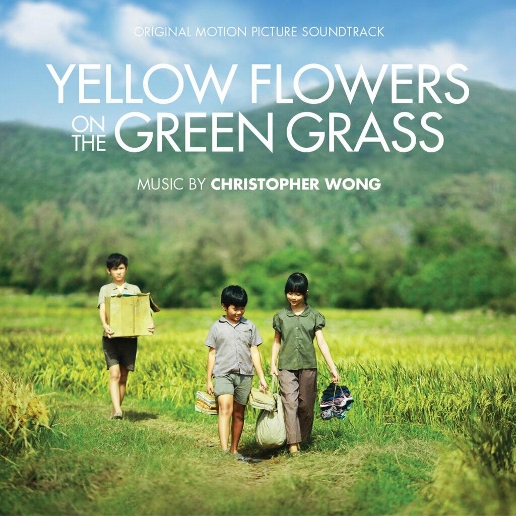 желтые цветы на зеленой траве