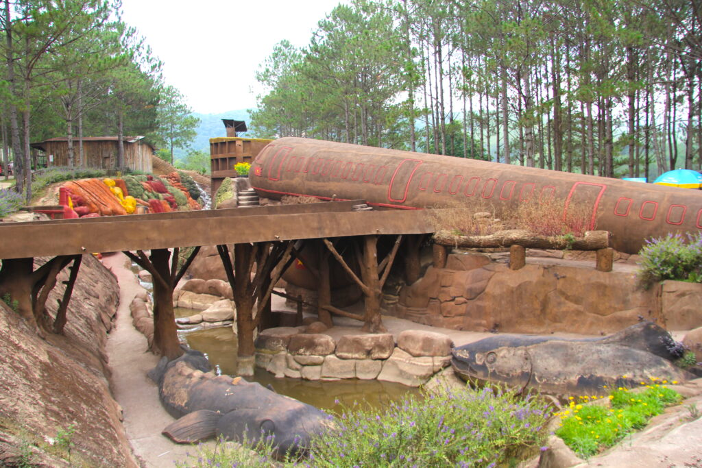 Clay tunnel in the Dalat