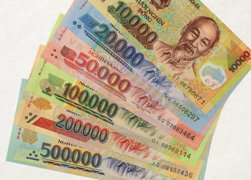 Как выглядят вьетнамские деньги фото
