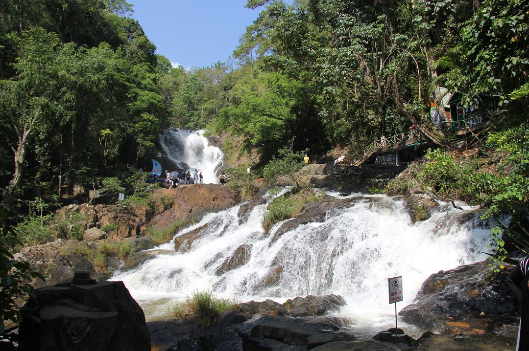 Водопад Датанла в Далате