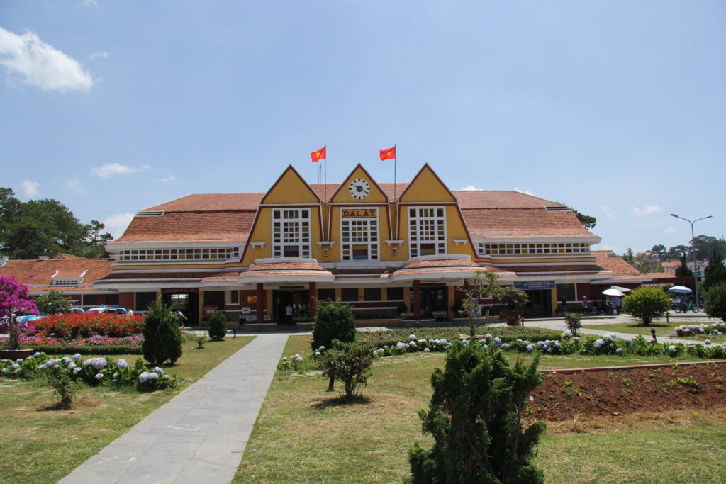 railway station in Dalat
