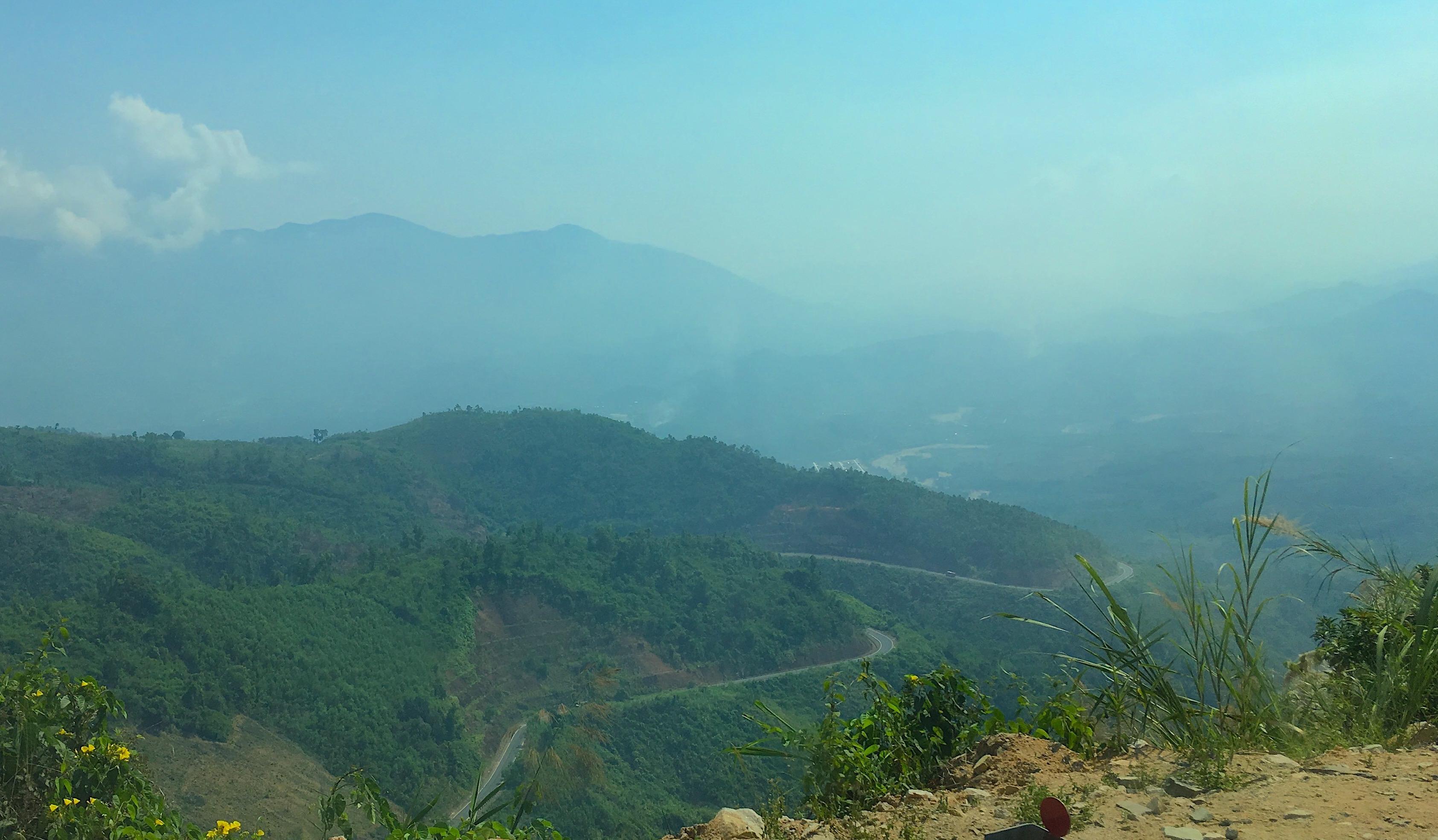 дорога из Нячанга в Далат