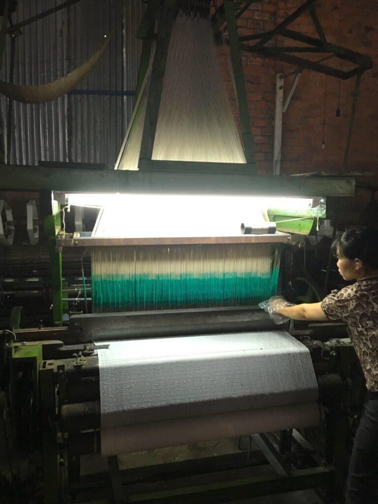 silk factory in Dalat