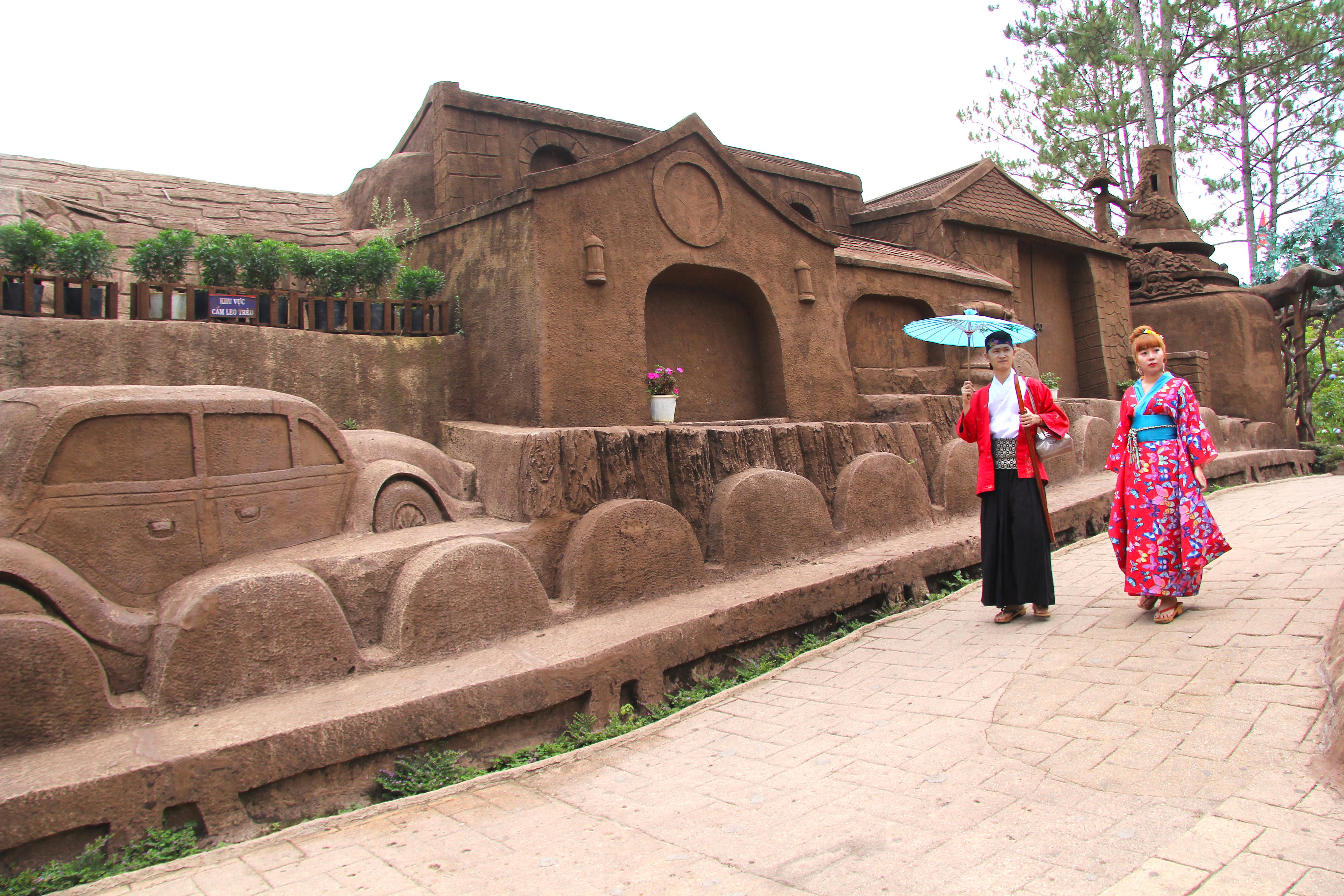 Clay tunnel in the Dalat