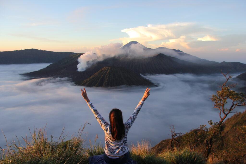 Бромо Вулкан Бромо Вулкан Бромо (Gunung Bromo) на Яве IMG 8708 1024x682